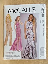 Mcalls Patterns Stunning McCalls Pattern 48 Jumpsuit Dress Skirt Top Misses eBay