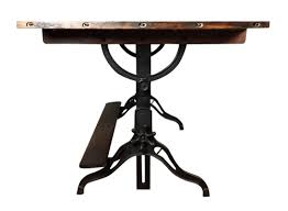 iron industrial furniture. Offering A Handsome Cast Iron And Wood Drafting Table. Circa 1910s-1920s. I\u0027ve Sold Lot Of Antique/vintage Tables, But This Is Very Unique One Industrial Furniture R