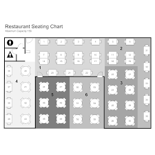 Seating Chart Software Mac Restaurant Seating Chart