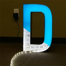 whole led channel letters signs block 3 d channel letters led illuminated channel letter