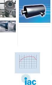 Acoustic Silencer Design Exhaust Silencer Iac Silencer Sm50p The Acoustical