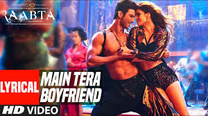 Main Tera Boyfriend Lyrical Video Raabta Arijit Singh Neha.