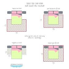rug size under queen bed rug under king bed best of rug size for queen bed