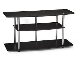 Tv Stand Black Amazoncom Convenience Concepts Designs2go 3 Tier Wide Tv Stand
