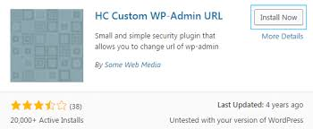 how to change admin folder name with hc