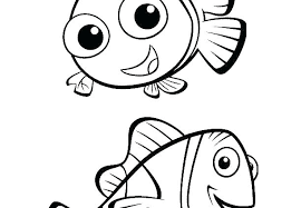 Coloring Pages Nemo Coloring Pages In The Tank Coloring Page