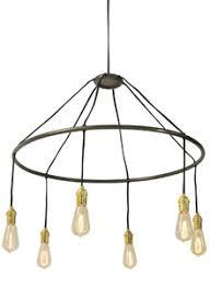 halo lighting. Historic Lighting: 1910 Halo Chandelier Lighting