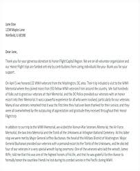 Donor Thank You Letter Sample Sample Letter Of Thanks For Donation Arianet Co
