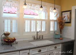 Kitchen Window Coverings Fresh Idea To Design Your Image Of Kitchen Window Valance Ideas