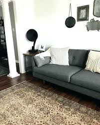 Article Furniture Reviews Gravel Gray Sofa Sofas Modern Mid Century  And Image   A99