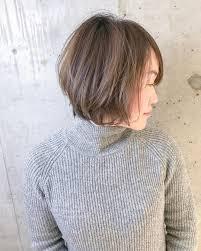40代の髪型ヘアカタログ大人のショートヘアショートボブヘア I See