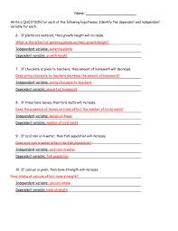 Scientific Method Steps, Examples & Worksheet - Zoey And Sassafras ...