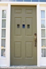 how to paint a front doorA Simple Fall House Update  How to Paint an Exterior Door  Home
