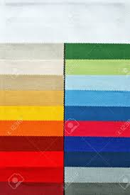 Decorative And Fashion Textile Cloth Color Chart