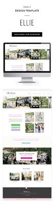 Showit 5 Designs Ellie Showit 5 Design Template For Photographers By Seaside