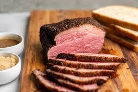 smoked corned beef recipe