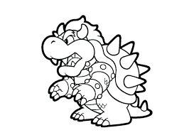 Coloring Pages Mario Coloring Pages Bowser Page Cat Super To Print