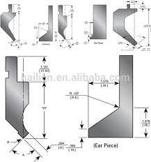 press brake forming. hydraulic bending machine sheet metal forming dies press brake tooling gooseneck punch 3