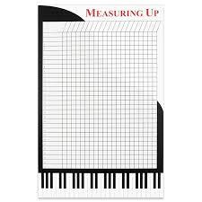 Grand Piano Incentive Wall Chart