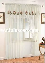 stunning ideas curtains with valance attached remarkable shower courtyard garden and pool