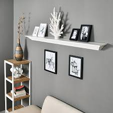welland corona crown molding floating wall photo ledge shelves fireplace mantel shelf 60 inch white