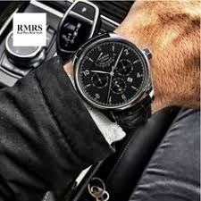 <b>42mm Parnis Business</b> Watch for Men Power Reserve Moon Phase ...