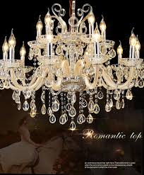 large luxury crystal chandelier living room re sala de cristal modern crystal chandeliers light fixture wedding decoration