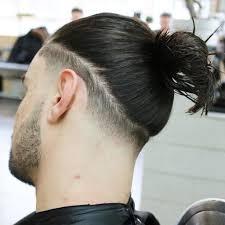 メンズの髪型ロン毛 ツーブロックでマンバンの結び方を伝授