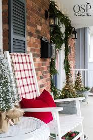 diy christmas porch decor ideas on sutton place