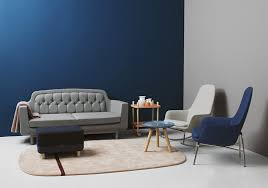 Pareti Azzurro Grigio : Guida colori pareti del salotto le gradazioni blu