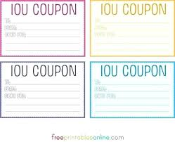 Publisher Coupon Template