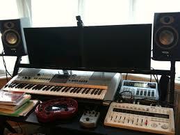 studio desk setup innovative est home