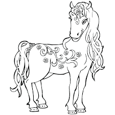 Printable Coloring Pages Of Horses Running E Coloring Pages Es
