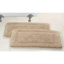 catchy kirkland signature luxury spa bath rug spa bathroom rugs dii oceanique machine washable cotton woven