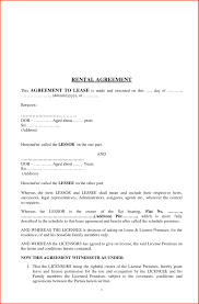 sample rental agreement letter sample lease agreement letter save rental agreement termination