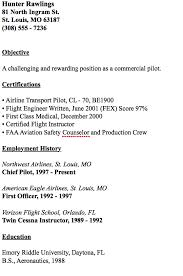 Pilot Resume Template Simple Pin By Ririn Nazza On FREE RESUME SAMPLE Pinterest Resume
