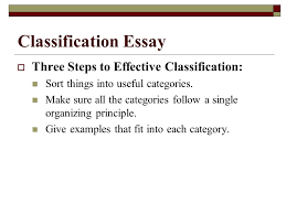 types of essays lane definition essay  three steps to  classification essay  three steps to effective classification sort things into useful categories
