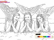 Small Picture MAKO MERMAIDS COLORING KIZI GAMES ONLINE