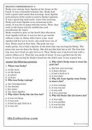 Reading-comprehension-worksheets-high-school & High School Reading ...