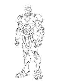 Imprimer Personnages C L Bres Comics Iron Man Num Ro
