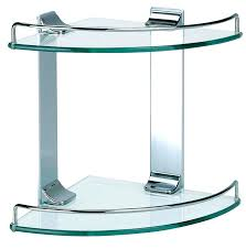 Glass Corner Shelves Uk smart glass corner shelves bathroom parsmfg 39