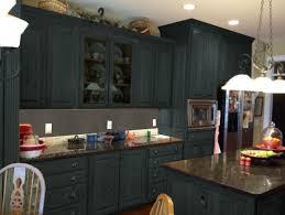 hickory wood black windham door painting kitchen cabinets black backsplash mosaic tile granite wood countertops sink faucet island lighting flooring