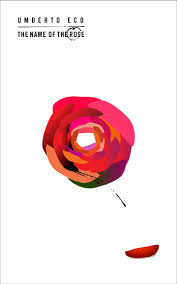 the name of the rose book cover that guy from warsaw your graphic design and brand ideny studio