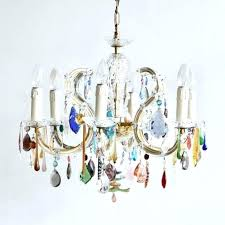 multi colored chandelier glass coloured chandeliers pendant shades