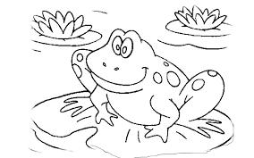 Printable Frog In Free Printable Frog Templates Codepsngratuit Club