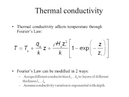 3 thermal conductivity