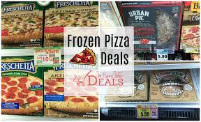 frozen pizza deals at harris teeter
