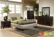bedroom furniture pieces. phoenix king fabric upholstered bed 6 piece bedroom furniture set w chest pieces