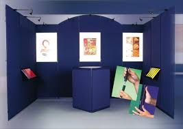Art Exhibition Display Stands CLIP Display Panel Panel System Products Display banner 79