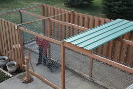 fence options for dog kennels